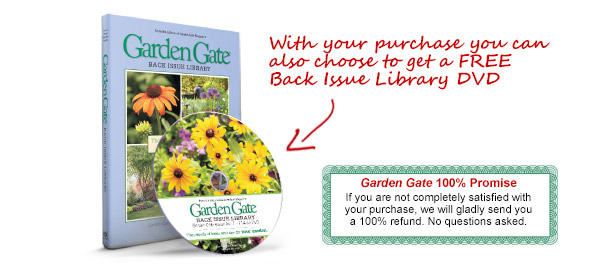 With your purchase you can also choose to get a FREE Back Issue Library DVD